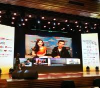 夢陽楷奕參加北京記者會 連線向全球介紹星島中文電台