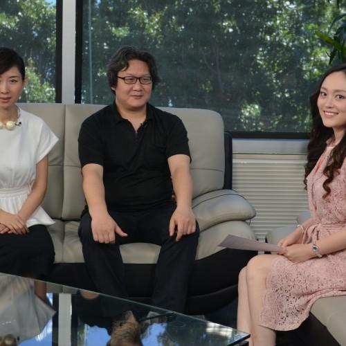 """主持人夢陽訪問電影""""師父""""導演徐浩峰 製片李霞"""