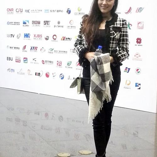 夢陽代表參加2016上海廣播節