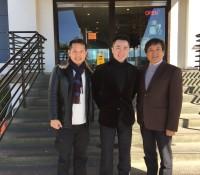 台灣知名主播-年代國際新聞中心主任蕭子新作客灣區